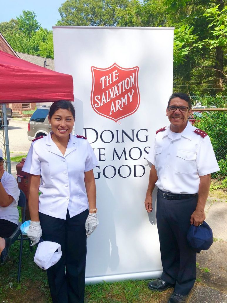 Salvation Army in Williamsburg welcomes new commanding officers