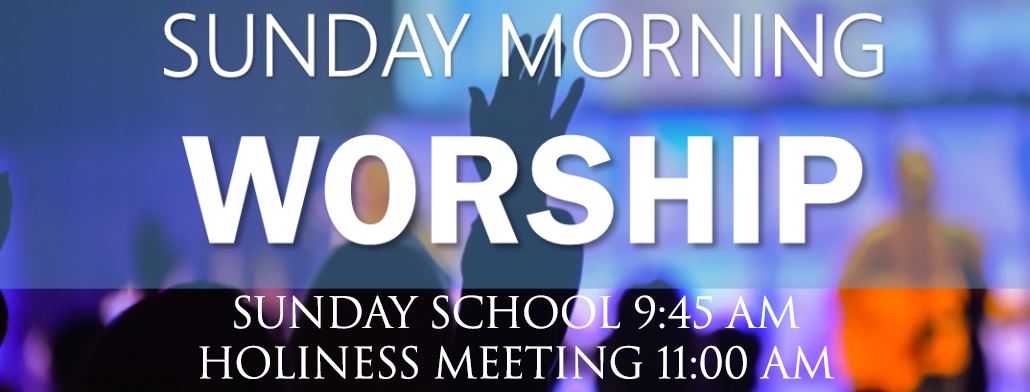 Worship Services Times Banner