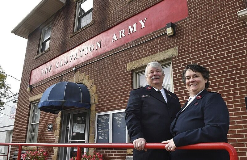 Salvation Army leaders taking on pandemic challenge and change in location