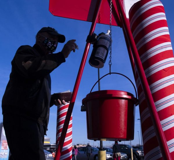 Donations ahead of last year for local Salvation Army red kettle drive