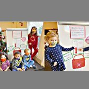 Local preschoolers do their part to aid Salvation Army