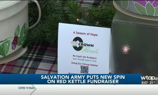 Salvation Army puts new spin on Red Kettle fundraiser