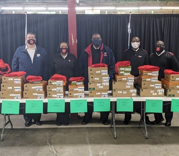 Toyota's 'Walk In My Boots' program helps The Salvation Army provide aid for Baltimore families
