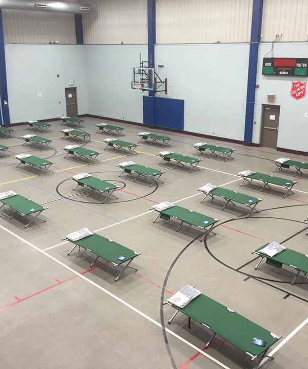 With colder weather continuing, several warming shelters are opening for those in need