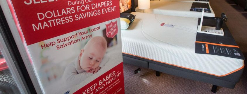 Furnishing Families: Mattress Sale Looks To Amend The Local Diaper Dilemma