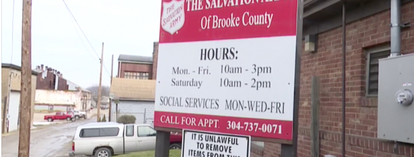 Brooke County Salvation Army helps feed those in need