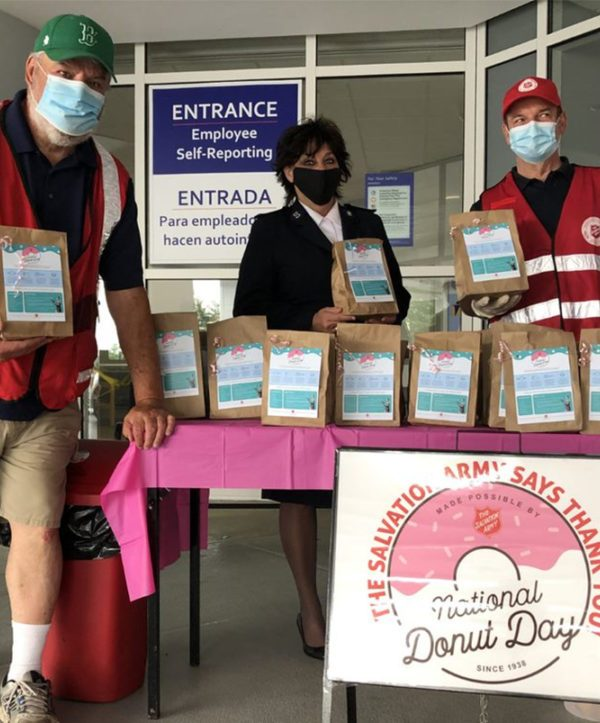 The Salvation Army prepares for National Donut Day
