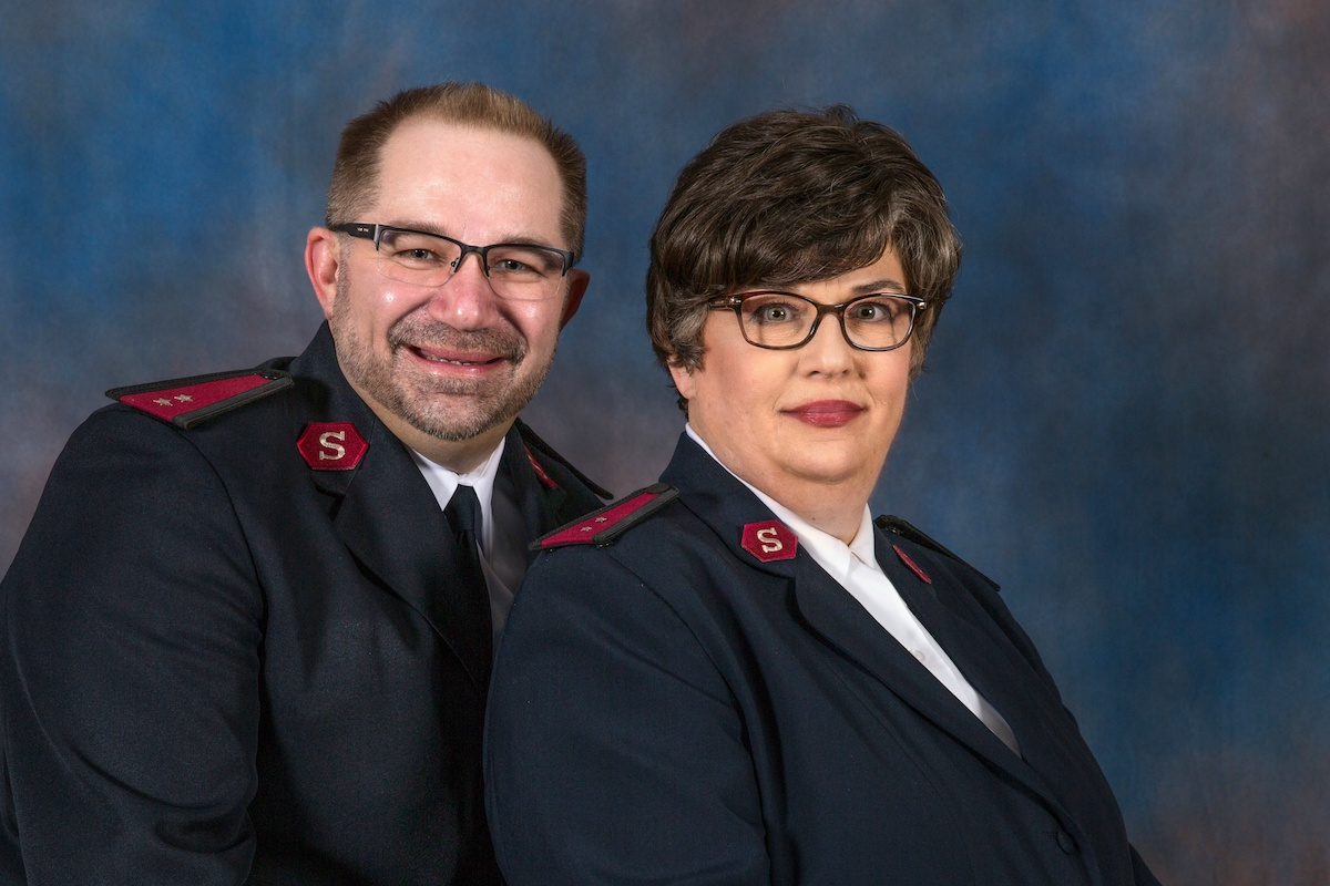 Captains Kenneth and Amy Argot