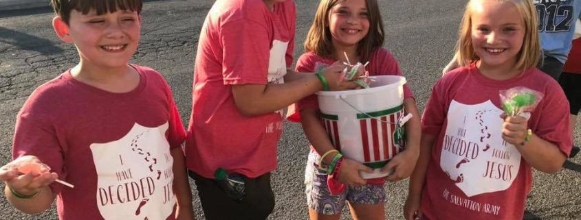 Local Salvation Army joins with Boys & Girls Club