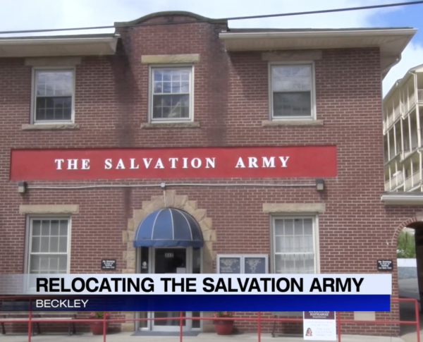 Beckley Salvation Army looking to move in to new building
