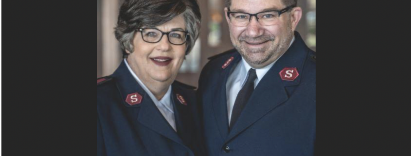 The Salvation Army of Frederick County welcomes new officers
